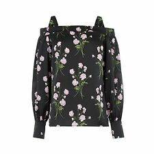 WAREHOUSE Floral Off Shoulder Top 6/8/10 RRP £35