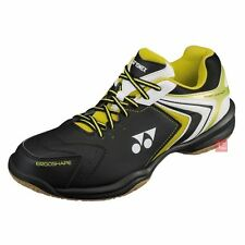 Yonex SHB47 Power Cushion 47 Badminton Shoes - Black/Lime