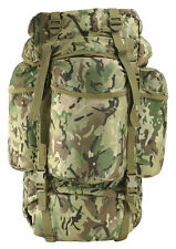 KOMBAT RUCKSACK 60 LITRE ARMY TACTICAL BERGEN CADET CAMPING HIKING BACKPACK BTP