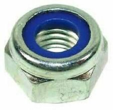 Nyloc Nuts BZP Bright Zinc Plated Bolts Nylon Insert Locking Type T Din 985