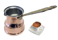 New Style Handmade Copper Turkish Greek Coffee Pot Maker Cezve Ibrik Briki UK