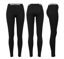 Urban Classics Ladies Logo Leggings Damen Leggins Legging Yoga Pant