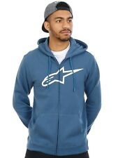 Sweat zippé à capuche Alpinestars Ageless Bleu