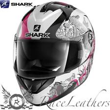 SHARK ridill Riddle Spring Rosa Mujer Moto Casco de Scooter