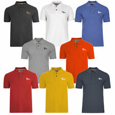 New Mens Tokyo Laundry Classic Cotton Rich Short Sleeve Polo Shirt Top Size S-XL