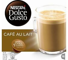 NESCAFE Dolce Gusto Café au Lait Pack of 16 Capacity Dolce Gusto Mod Machines