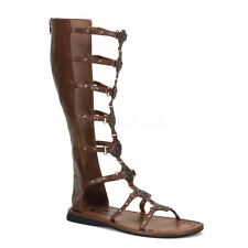 Funtasma by Pleaser ROMAN-15 Roman Gladiator Sandal Men's Brown Pu