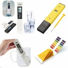 Digital pH Meter LCD TDS Water Purity PPM Filter Hydroponic Pool Tester Pen UK