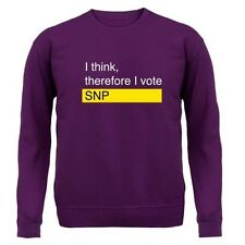 I Think, Therefore I Voto SNP - Unisex Jersey/JERSEY - ELECCIONES - 8 COLORES