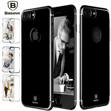 iPhone 7 7 Plus Case,[Ultra-Hybrid] Clear Shockproof Hard Bumper Cover
