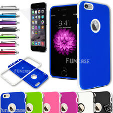 For iPhone 6 4.7'' Plus 5.5'' Rugged Rubber Matte UltraThin Soft Hard Case Cove