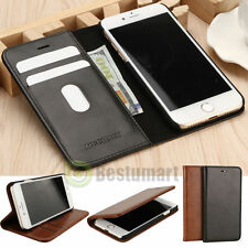 Luxury Leather Wallet Card Holder Flip Stand Case Cover For iPhone 6 6
