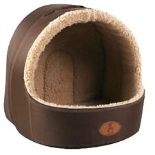 Soft Pet Dog Cat Bed House Sleeping Cave Dog Bed House Plush Nest Mat Pad For Pe