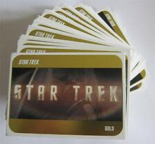 2014 STAR TREK PELICULAS - 2009 DORADO CARTA - Make up your juego