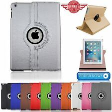 PIEL 360° Giratorio Smart Funda con Soporte para Apple iPad Air 4 3 2 Mini