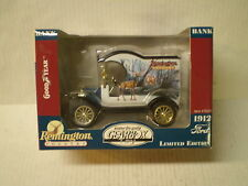 Remington Country Gearbox toy 1912 Ford model T coin bank new in box #76521 Deer