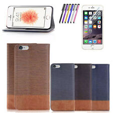 Luxury Magnetic Flip Cover Stand Wallet Leather Case For iPhone 7 7 Pl