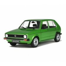 SOLIDO 1800201 1800203 VW GOLF CL diecast model road cars yellow / green 1:18th
