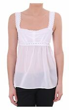 Women's D&g Dolce & Gabbana Womens Cotton Top White