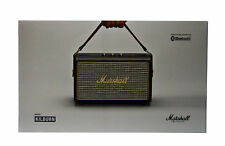 Marshall Kilburn 30-watt Portable Bluetooth Speaker w Aux Port in Black 04091189