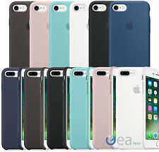 Apple custodia originale in Silicone per iPhone 7 8 e 7 8 PLUS Back Cover Soft