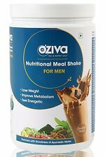 OZiva Nutritional Meal Shake (Meal Replacement), Men-500 gm (Chocolate)