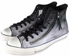 Converse by John Varvatos CTAS Double Zip Leather Sneaker Black Fade 151273