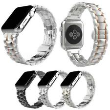Stainless Steel Link Bracelet Watch band Strap For Apple Watch Series 1 2 3 42mm