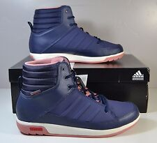 NIB WOMENS ADIDAS CW CHOLEAH MIDNIGHT GREY PINK SNEAKERS SHOES SZ 8-12