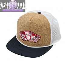 Vans Off The Wall Classic Patch Patchwork Snapback Trucker Hat - Dress Blues