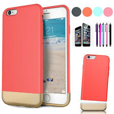 """Shockproof Rugged Hybrid Rubber Hard Cover Case For Apple iPhone 6 4.7"""" & 6"""