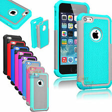 For Apple iPhone 5C C Hybrid Shockproof Hard Rugged Heavy Duty Cover Case S