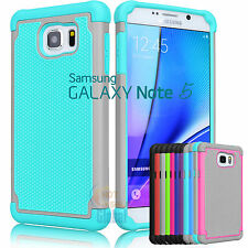Armor Shockproof Rugged Rubber Hard Case Cover for Samsung Galaxy Note 5 V