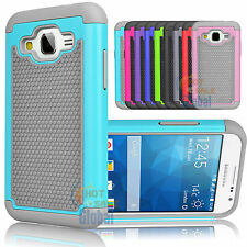 Shockproof Hard Hybrid Case Cover For Samsung Galaxy Core Prime Prevail LTE