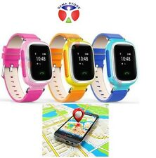 OROLOGIO GPS BAMBINI SMART WATCH LOCALIZZATORE SOS CHIAMATE ANDROID IOS BABY