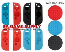 Silicone Rubber Skin Case Gel Cover For Nintendo Switch Joy-Con Grip Dots