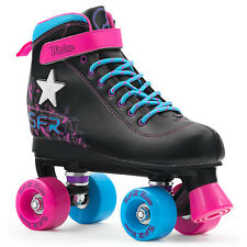 SFR - Vision II Lights - Patines quad con luces - Negro / rosa / azul