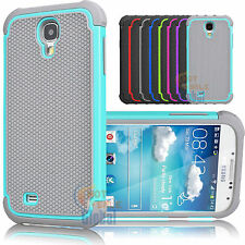 Shockproof Hybrid Rugged Rubber Case Cover Skin For Samsung Galaxy S4 IV i9