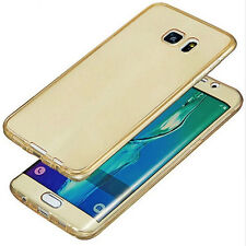 Etui Coque Housse Full Protection Silicone Pour Samsung Galaxy S7 Edge