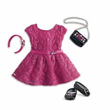 American Girl Doll Merry Magenta Outfit for 18 inch Dolls
