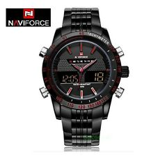 OROLOGIO NAVIFORCE 9024 SPORTIVO MILITARE LED DIGITALE Sport Watch Stainless