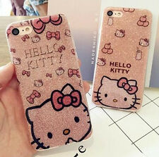 Hello Kitty Bling Bling Brillance Etui Coque Housse Pour iPhone 6/6SP 7/7P