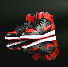 """1/6 Scale Sneakers Basketball Sports Shoes Trainers Air AJ1  for 12"""" Action figu"""