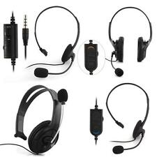 Auricular Auriculares Headset Wired con Cable Micrófono para PS4 Playstation4 PC