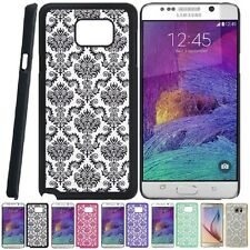 For Samsung Galaxy Note 5 Lace TPU Hard Slim Back Case Skin Phone Cover