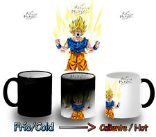 tazza MAGICA DRAGON BALL SUPER SAIYAN GOKU MUG HEAT REACTIVE tazza tazze magic