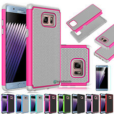 2016 Hybrid Armor Shockproof Rugged Rubber Case Cover for Samsung Galaxy No