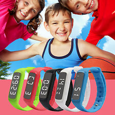 Children Kids Fitbit Style Activity Tracker Pedometer Step Counter Fitness Band.
