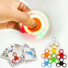 TRI HAND SPINNER LED LUMINEUX - JOUET 3D A ROULEMENT - ANTI-STRESS - NEW