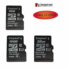 KINGSTON MICRO SD TF tarjeta de memoria 8gb/16GB / 32gb SDHC UHS-I C10